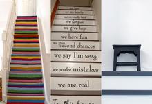 Decora tus escaleras