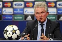 Jupp Heynckes, en la rueda de prensa previa a la final.   EFE