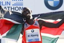Wilson Kipsang batió el récord mundial de maratón. | Cordon Press