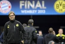 Jürgen Klopp, durante el entrenamiento del Dortmund previo a la final.   EFE