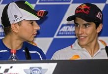 Jorge Lorenzo y Dani Pedrosa, en rueda de prensa. | EFE