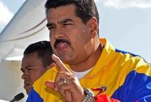 Nicolás Maduro, a su llegada a Cochabamba   EFE