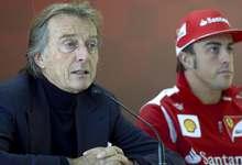 Luca Cordero di Montezemolo (i), junto a Fernando Alonso.   Cordon Press