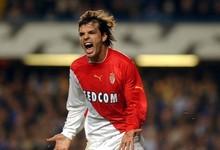 Morientes, celebrando un gol con el Mónaco| Cordon Press