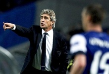 Manuel Pellegrini, entrenador del Málaga. | EFE