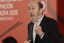 Alfredo Pérez Rubalcaba, en un acto este sábado | PSOE