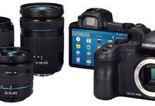 Samsung Galaxy NX, una cámara sin espejo con Android y conexión 4G. | Samsung