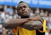 Usain Bolt, tras ganar su serie de los 200 metros en los Mundiales de Daegu. | Archivo/EFE