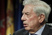 Vargas Llosa, este jueves en la Casa de América   EFE