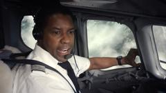Denzel Washington en 'El vuelo'