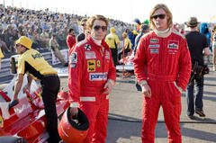 Daniel Brühl y Chris Hemsworth en Rush,ya en cines
