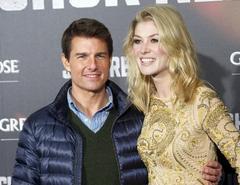 Tom Cruise y Rosamund Pike en Madrid | Cordon Press