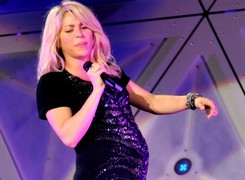 Shakira, durante el concierto | Cordon Press