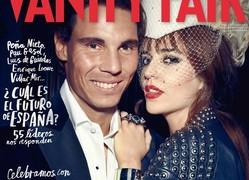 Rafa Nadal y Clara Alonso en Vanity Fair