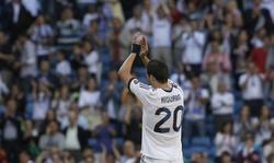 Higuaín, durante el partido contra el Osasuna | Efe