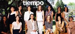 Letizia, en la revista Tiempo