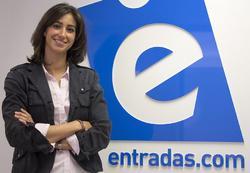 María Fanjul, directora ejecutiva (CEO) de entradas.com. | entradas.com