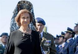 La Reina, durante los actos centrales del Día de la Guardia Civil | Efe