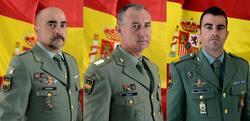 Los tres legionarios fallecidos en Almería | Ministerio de Defensa
