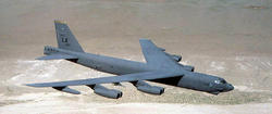 Un avión B52 similar al implicado en el accidente |Wikipedia/USAF