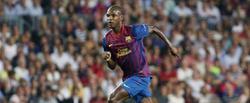 Eric Abidal, durante un partido con el Barcelona. | Archivo