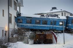 El estado en que quedó el tren   EFE