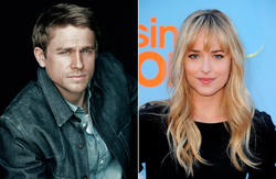 Charlie Hunnam y Dakota Johnson