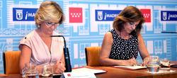Firma del acuerdo entre Aguirre y Botella | Comunidad de Madrid