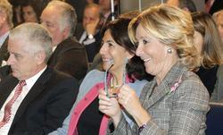 Aguirre en un acto en Turismo | EFE