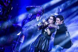 Alejandro Sanz, en pleno concierto   Cordon Press