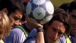Alfonso Pérez Muñoz y Guardiola, en la selección. | Cordon Press