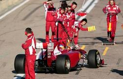 Fernando Alonso, a bordo del F150th de Ferrari. | Archivo