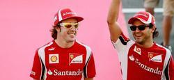 Fernando Alonso y Felipe Massa. | Archivo