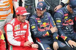 Alonso y Vettel, antes del GP de Brasil | Efe
