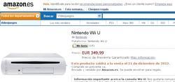 Nintendo Wii U en preventa en Amazon.