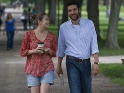 Escena de la película Amor y letras