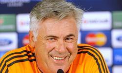 Carlo Ancelotti, en rueda de prensa n el