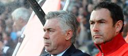 Cartlo Ancelotti y Paul Clement, en el PSG | Cordon Press