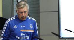 Carlo Ancelotti atiende a la prensa. | EFE