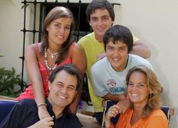 Artur Mas y su familia| Archivo