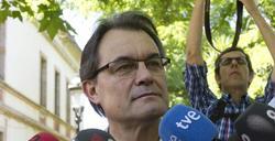 Artur Mas, este lunes | EFE
