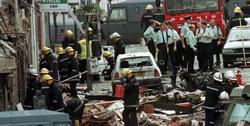 Una parte de la calle Market Street tras el atentado de Omagh. | Cordon Press