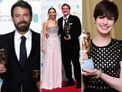 Affleck, Tarantino y Hathaway   Cordon Press