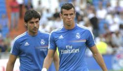 Gareth Bale, durante un calentamiento con el Real Madrid. | Cordon Press