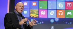 Steve Ballmer, CEO de Microsoft. | Archivo
