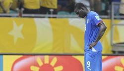 Mario Balotelli, durante el partido del pasado sábado ante Brasil. | EFE/Archivo
