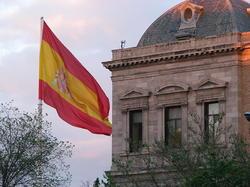 Bandera de España en la plaza de Colón   Wikipedia