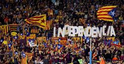 Imagen del Camp Nou durante el último clásico. | EFE