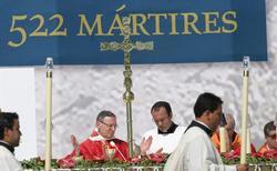 Ceremonia de beatificación en Tarragona | EFE