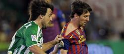Messi no marcó y se queda con 50 goles en liga. | EFE
